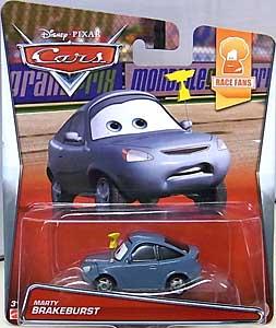 MATTEL CARS 2015 シングル MARTY BRAKEBURST