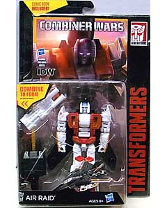 HASBRO TRANSFORMERS GENERATIONS 2015 [COMBINER WARS] DELUXE CLASS AIR RAID [COMIC BOOK INCLUDED]