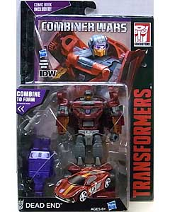 HASBRO TRANSFORMERS GENERATIONS 2015 [COMBINER WARS] DELUXE CLASS DEAD END [COMIC BOOK INCLUDED]