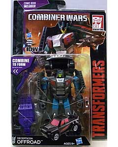 HASBRO TRANSFORMERS GENERATIONS 2015 [COMBINER WARS] DELUXE CLASS DECEPTICON OFFROAD [COMIC BOOK INCLUDED]