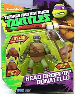 PLAYMATES NICKELODEON TEENAGE MUTANT NINJA TURTLES ベーシックフィギュア 2015 HEAD DROPPIN' DONATELLO