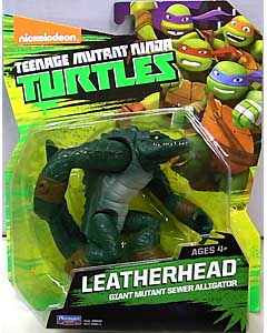 PLAYMATES NICKELODEON TEENAGE MUTANT NINJA TURTLES ベーシックフィギュア 2015 LEATHERHEAD