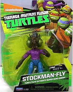 PLAYMATES NICKELODEON TEENAGE MUTANT NINJA TURTLES ベーシックフィギュア 2015 STOCKMAN-FLY 台紙&ブリスター傷み特価