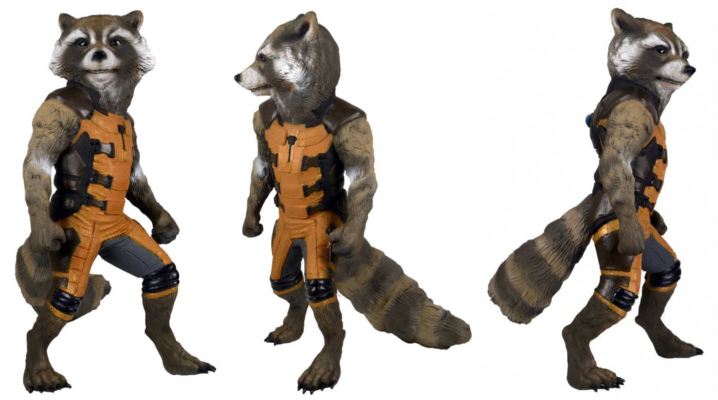 NECA 映画版 GUARDIANS OF THE GALAXY FULL SIZE ROCKET RACCOON