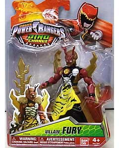 USA BANDAI POWER RANGERS DINO CHARGE 5インチアクションフィギュア VILLAIN FURY