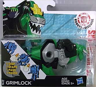 HASBRO アニメ版 TRANSFORMERS ROBOTS IN DISGUISE ONE STEP CHANGER GRIMLOCK
