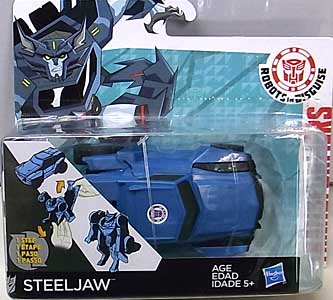 HASBRO アニメ版 TRANSFORMERS ROBOTS IN DISGUISE ONE STEP CHANGER STEELJAW