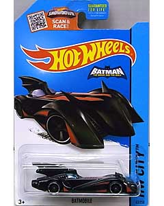 MATTEL HOT WHEELS 1/64スケール 2015 HW CITY BATMOBILE [BATMAN THE BRAVE AND THE BOLD] [RED TRIM] #063