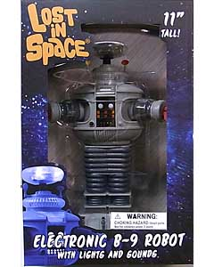 DIAMOND SELECT LOST IN SPACE ELECTRONIC B-9 ROBOT WITH LIGHTS AND SOUNDS