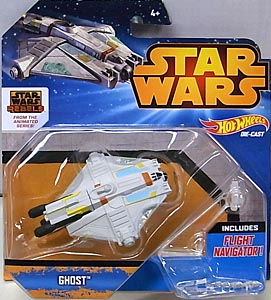 MATTEL HOT WHEELS STAR WARS DIE-CAST VEHICLE GHOST 台紙傷み特価