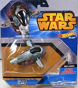 MATTEL HOT WHEELS STAR WARS DIE-CAST VEHICLE BOBA FETT'S SLAVE I