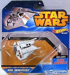 MATTEL HOT WHEELS STAR WARS DIE-CAST VEHICLE REBEL SNOWSPEEDER