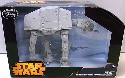 STAR WARS USAディズニーストア限定 DIE CAST VEHICLE AT-AT