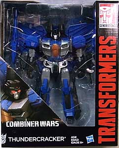 HASBRO TRANSFORMERS GENERATIONS 2015 [COMBINER WARS] LEADER CLASS THUNDERCRACKER パッケージ傷み特価