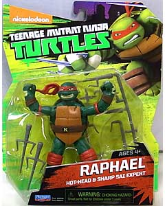 PLAYMATES NICKELODEON TEENAGE MUTANT NINJA TURTLES ベーシックフィギュア 2015 RAPHAEL (目有り)