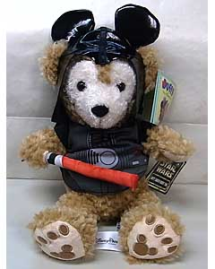 DISNEY USAディズニーテーマパーク限定 DUFFY THE DISNEY BEAR 12INCH DARTH VADER FAN DUFFY THE DISNEY BEAR