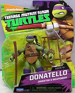 PLAYMATES NICKELODEON TEENAGE MUTANT NINJA TURTLES ベーシックフィギュア 2015 DONATELLO (目有り)