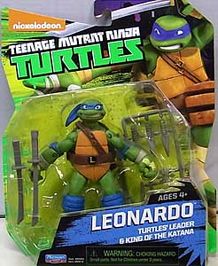 PLAYMATES NICKELODEON TEENAGE MUTANT NINJA TURTLES ベーシックフィギュア 2015 LEONARDO (目有り)
