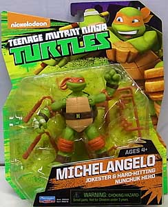 PLAYMATES NICKELODEON TEENAGE MUTANT NINJA TURTLES ベーシックフィギュア 2015 MICHELANGELO (目有り)