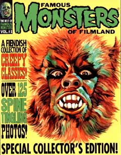 THE BEST OF FAMOUS MONSTERS OF FILMLAND VOL. #1 表紙折れ特価
