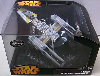 STAR WARS USAディズニーストア限定 DIE CAST VEHICLE Y-WING