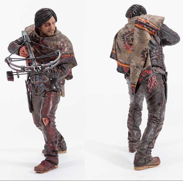 McFARLANE TOYS THE WALKING DEAD TV DELUXE 10インチアクションフィギュア DARYL DIXON [SURVIVOR EDITION]