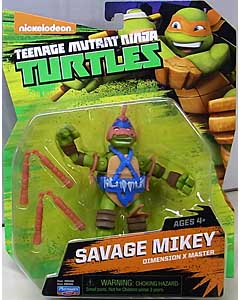 PLAYMATES NICKELODEON TEENAGE MUTANT NINJA TURTLES ベーシックフィギュア 2015 SAVAGE MIKEY
