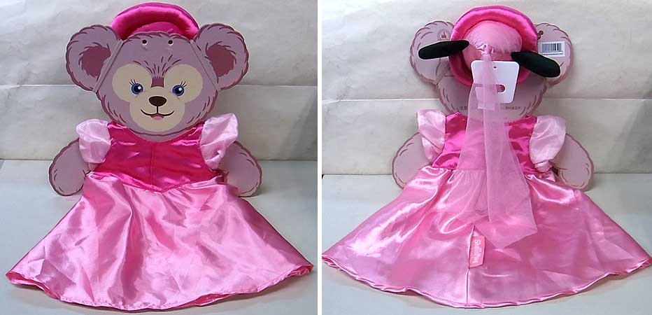 DISNEY USAディズニーテーマパーク限定 DUFFY THE DISNEY BEAR SHELLIEMAY COSTUME [PRINCESS MINNIE MOUSE]