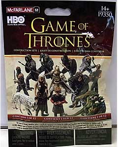 McFARLANE TOYS GAME OF THRONES BUILDING SETS BLIND BAG 1PACK
