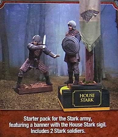 McFARLANE TOYS GAME OF THRONES BUILDING SETS STARK BANNER PACK