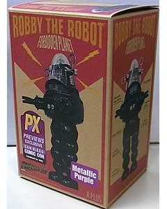 2013年サンディエゴ・コミコン限定 X-PLUS DIECAST AGE FORBIDDEN PLANET ROBBY THE ROBOT [METALLIC PURPLE] 特売品