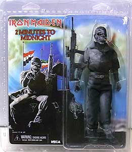 NECA IRON MAIDEN 8インチドール 2 MINUTES TO MIDNIGHT