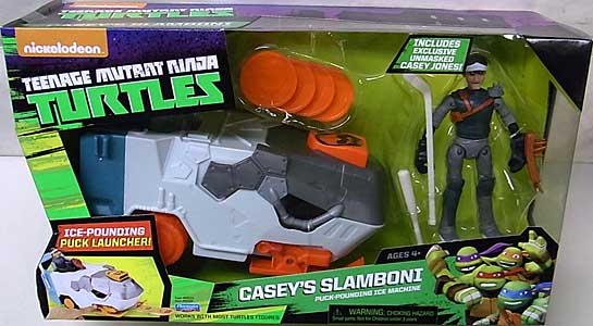 PLAYMATES NICKELODEON TEENAGE MUTANT NINJA TURTLES ビークル 2015 CASEYS SLAMBONI