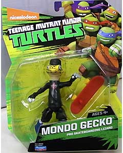 PLAYMATES NICKELODEON TEENAGE MUTANT NINJA TURTLES ベーシックフィギュア 2015 MONDO GECKO