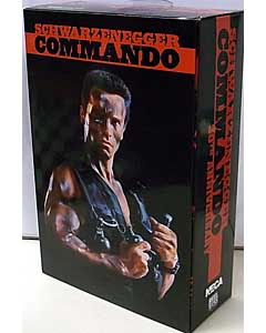 NECA COMMANDO 7インチアクションフィギュア 30TH ANNIVERSARY ULTIMATE JOHN MATRIX