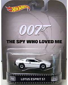 MATTEL HOT WHEELS 1/64スケール 2015 RETRO ENTERTAINMENT 007 THE SPY WHO LOVED ME LOTUS ESPRIT S1