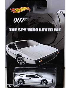 MATTEL HOT WHEELS 1/64スケール 2015 WALMART限定 007 THE SPY WHO LOVED ME LOTUS ESPRIT S1