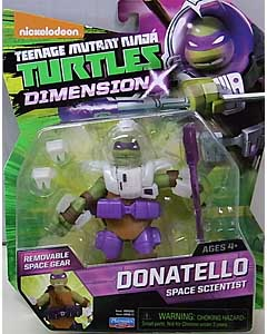 PLAYMATES NICKELODEON TEENAGE MUTANT NINJA TURTLES ベーシックフィギュア 2015 DIMENSION X DONATELLO SPACE SCIENTIST ブリスター傷み特価
