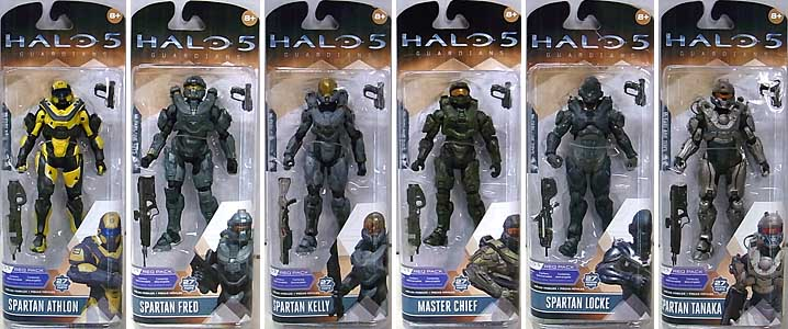 McFARLANE HALO 5: GUARDIANS シリーズ1 6種セット