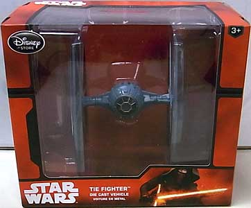 STAR WARS USAディズニーストア限定 DIE CAST VEHICLE TIE FIGHTER [NEW PACKAGE]