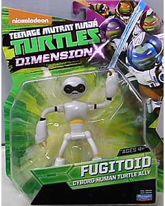 PLAYMATES NICKELODEON TEENAGE MUTANT NINJA TURTLES ベーシックフィギュア 2015 DIMENSION X FUGITOID