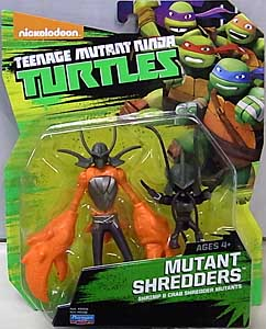 PLAYMATES NICKELODEON TEENAGE MUTANT NINJA TURTLES ベーシックフィギュア 2015 MUTANT SHREDDERS