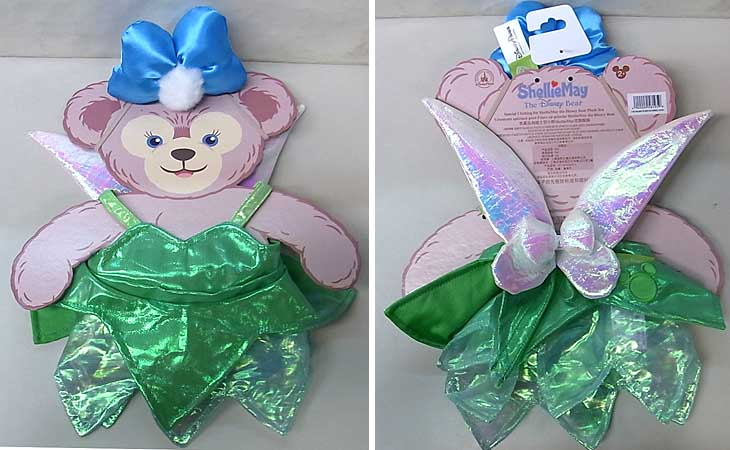 DISNEY USAディズニーテーマパーク限定 DUFFY THE DISNEY BEAR SHELLIEMAY COSTUME [TINKERBELL]