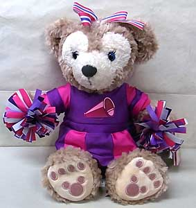DISNEY USAディズニーテーマパーク限定 DUFFY THE DISNEY BEAR 12INCH SHELLIEMAY THE DISNEY BEAR CHEERLEADER