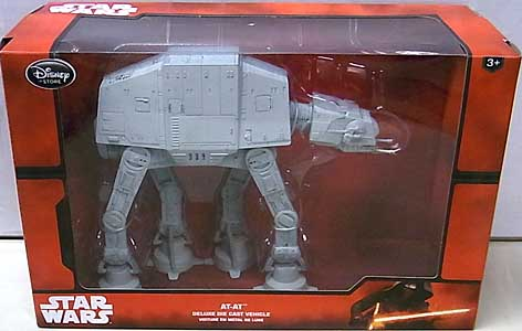STAR WARS USAディズニーストア限定 DIE CAST VEHICLE AT-AT [NEW PACKAGE]