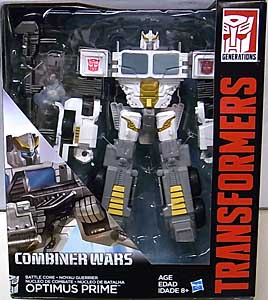 HASBRO TRANSFORMERS GENERATIONS 2015 [COMBINER WARS] VOYAGER CLASS BATTLE CORE OPTIMUS PRIME パッケージ傷み特価