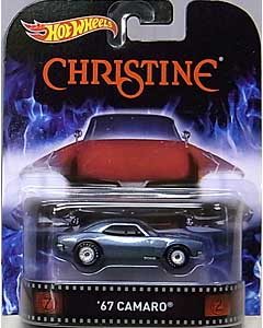 MATTEL HOT WHEELS 1/64スケール 2015 RETRO ENTERTAINMENT CHRISTINE 67 CAMARO