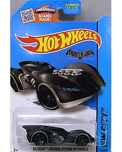 MATTEL HOT WHEELS 1/64スケール 2015 HW CITY BATMAN: ARKHAM ASYLUM BATMOBILE #064