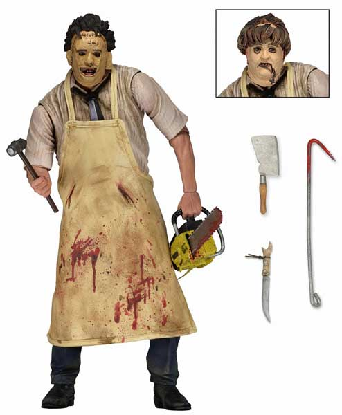 NECA THE TEXAS CHAINSAW MASSACRE 7インチアクションフィギュア ULTIMATE LEATHERFACE