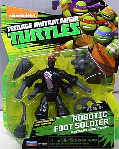PLAYMATES NICKELODEON TEENAGE MUTANT NINJA TURTLES ベーシックフィギュア 2015 ROBOTIC FOOT SOLDIER 台紙傷み特価